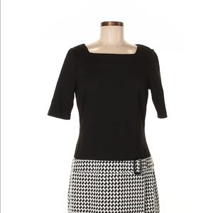 White House Black Market houndstooth Dress